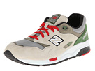 New Balance Classics CM1600 Grey, Green Shoes