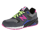 New Balance Classics WRT580 Grey, Black Shoes
