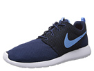 Nike - Roshe Run (Midnight Navy/Total Orange/White/University Blue)