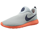 Nike - Roshe Run Slip On (Silver Wing/Team Orange/Cool Grey/Obsidian)