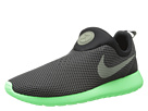 Nike - Roshe Run Slip On (Black/Poison Green/Iron Green)