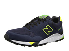 New Balance Classics M850 Navy, Yellow Shoes