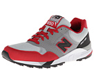 New Balance Classics M850 Grey, Red Shoes