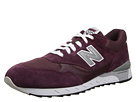 New Balance Classics CM496 Burgundy Shoes