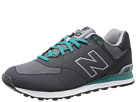New Balance Classics ML574 Elite Edition Collection Dark Grey Shoes