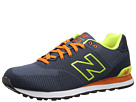New Balance Classics ML574 Elite Edition Collection Navy, Yellow 14 Shoes
