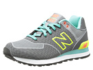 New Balance Classics WL574 Dark Grey Shoes