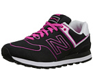 New Balance Classics WL574 Neon Lights Black, Dragon Shoes