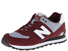 New Balance Classics ML574 Camping Collection Ox Blood Shoes