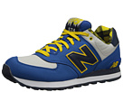 New Balance Classics ML574 Camping Collection Blue, Yellow Shoes