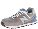 New Balance Classics ML574 Grey, Blue 14 Shoes