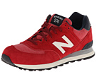 New Balance Classics ML574 Pennant Collection Red 14 Shoes