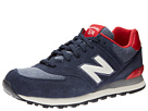 New Balance Classics ML574 Pennant Collection Navy 14 Shoes