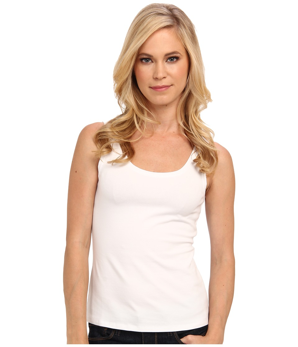 NIC+ZOE - Petite Perfect Tank (Paper White) Womens Sleeveless