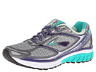 Brooks - Ghost 7 (Silver/Mulbry Purple/Pool Green) - Footwear