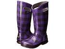 Bogs - Rainboot Buffalo Plaid (Grape) -