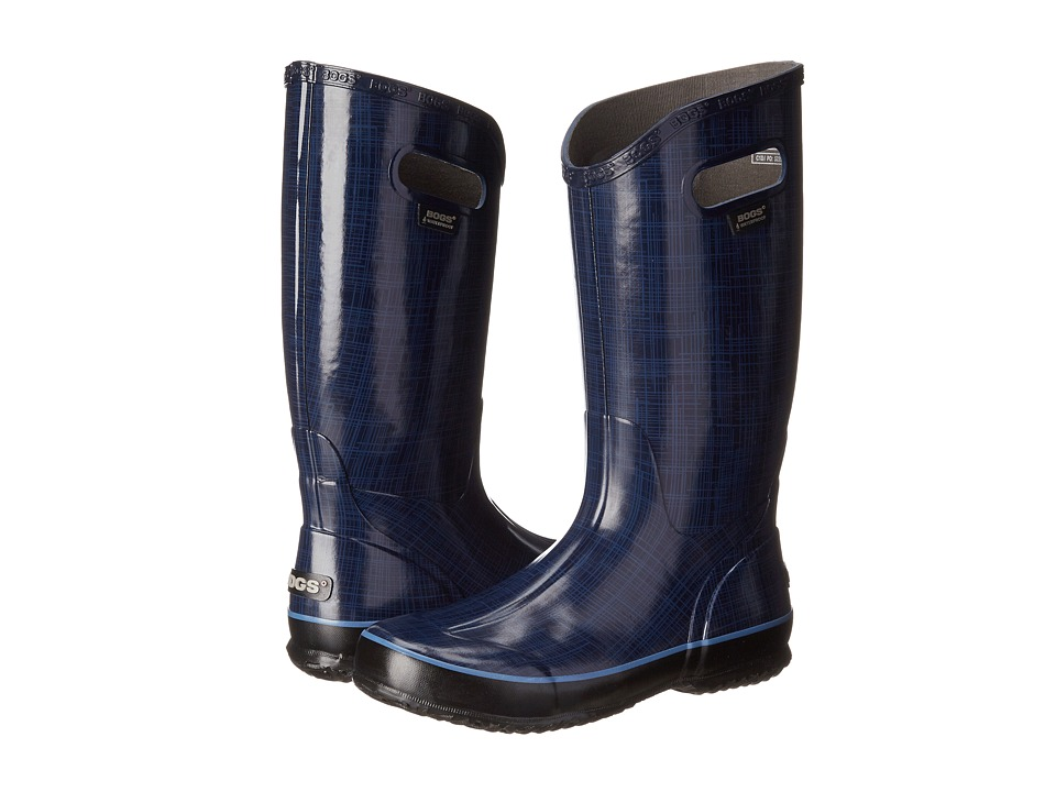 Bogs Linen Rainboot (Indigo) Women