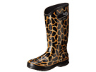 Bogs - Rainboot Animal Prints: Giraffe (Black/Brown) -