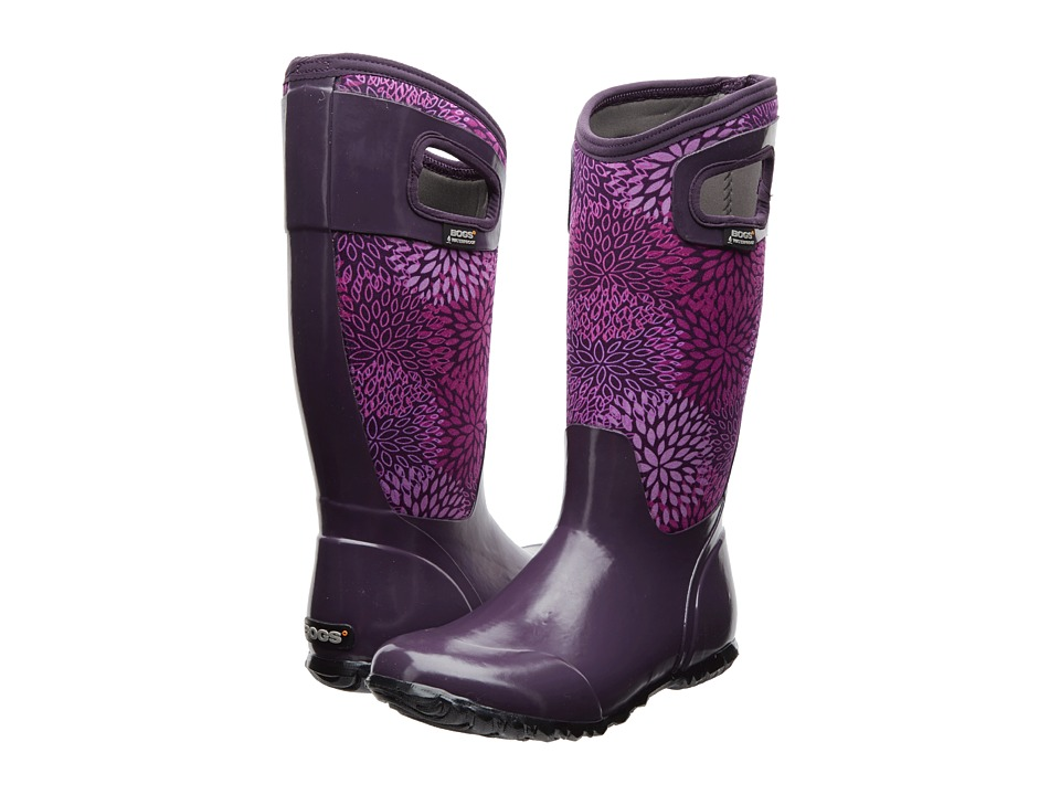 Bogs North Hampton Floral (Plum) Women