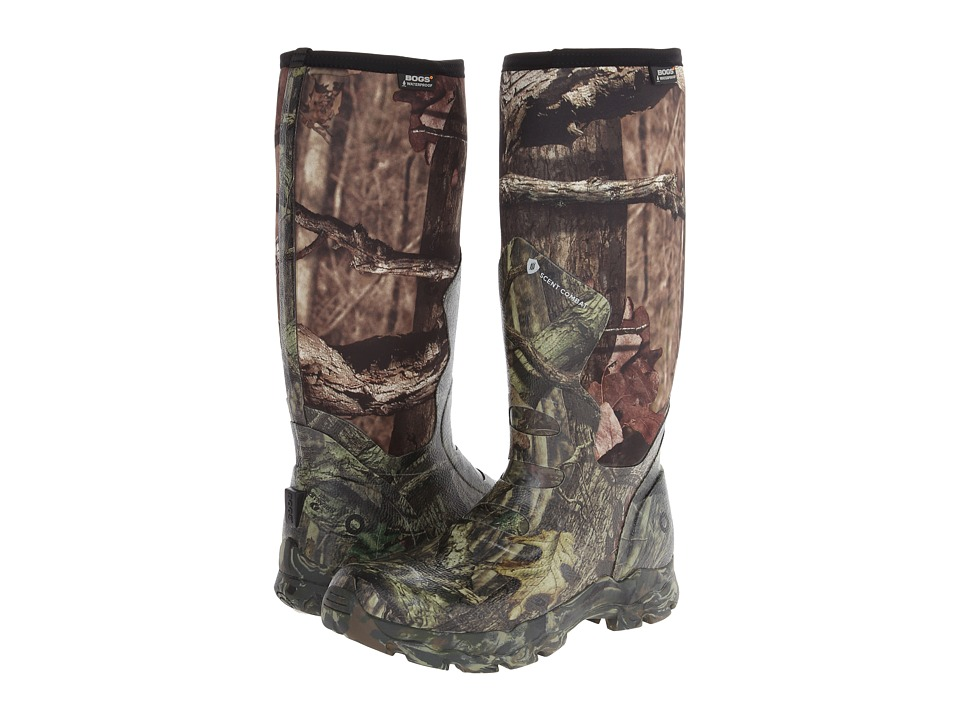 Bogs Big Horn Mossy Oak Mens Pull on Boots