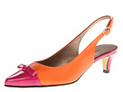 Vigotti - Tess (Orange Ecco Nappa/Fushia Ferns Patent) - Footwear