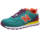 New Balance Classics WL574 Pop Safari Blue, Purple Shoes