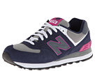 New Balance Classics WL574 Navy Shoes