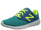 New Balance Classics WL1320 Green, Yellow Shoes