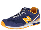 New Balance Classics ML515 Navy, Orange Shoes