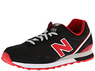 New Balance Classics ML515 Black, Red Shoes