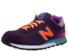New Balance Classics WL515 Purple, Orange Shoes