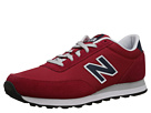 New Balance Classics ML501 Red, Navy Shoes