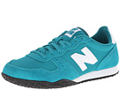New Balance Classics WL402 Teal, White Shoes