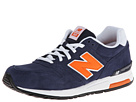 New Balance Classics ML565 Navy, Orange 14 Shoes