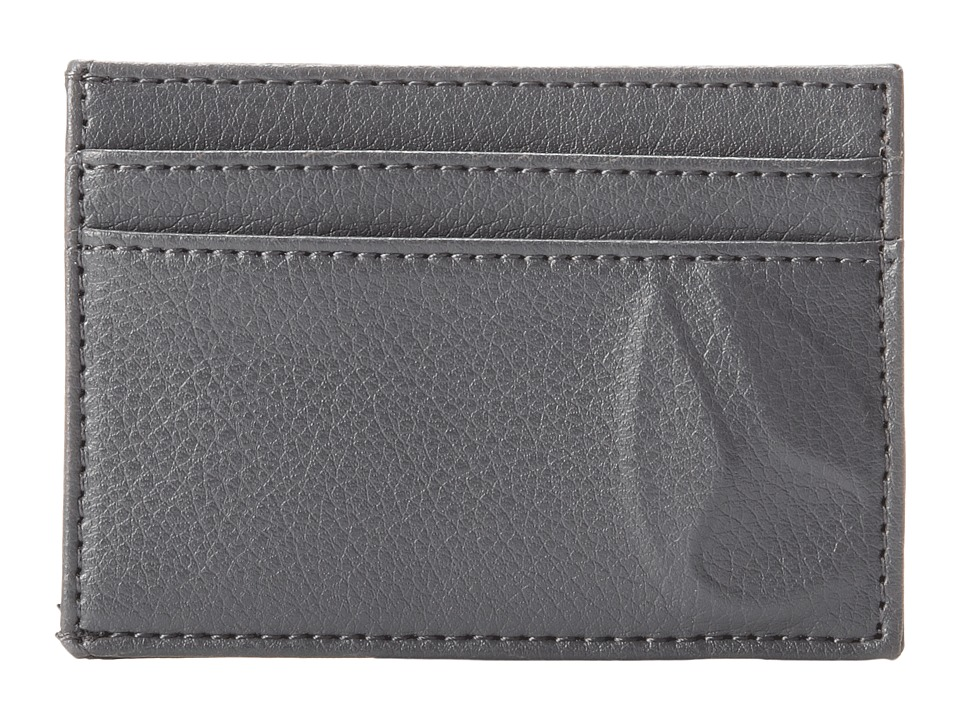 Nixon - Haze Card Wallet (Charcoal) Wallet Handbags