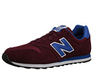 New Balance Classics M373 Red Shoes
