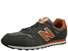 New Balance Classics M373 Grey, Orange 14 Shoes