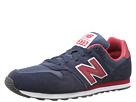 New Balance Classics M373 Navy, Red Shoes