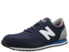 New Balance Classics U420 Navy, Red Shoes
