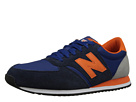 New Balance Classics U420 Blue, White, Brown Shoes
