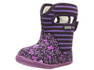 Bogs Kids Baby Classic Flower Stripe (Toddler)