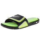 Nike - Comfort Slide 2 (Black/Volt/Metallic Silver/White)