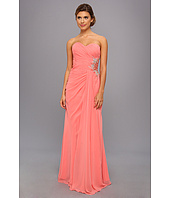 Faviana  Strapless Sweetheart Gown w/ Beaded Cutout 7307  image