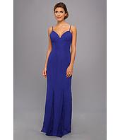 Faviana - Lace Godet Chiffon Gown 7362