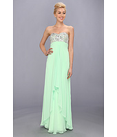 Faviana  Strapless Sweetheart Gown w/ Bust Detail 7335  image