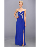 Faviana  Strapless Ruched Mesh Gown 7316  image
