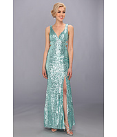 Faviana  Cutout Back Sequin Gown 7313  image