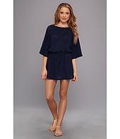 Allen Allen - Mesh Tunic Dress