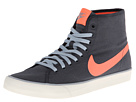 Nike - Primo Court Mid Canvas (Dark Magnet Grey/Light Magnet Grey/Sail/Bright Mango)
