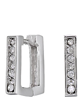 Vince Camuto - Lucid Dreams Silver Crystal Square Hoop